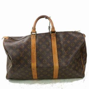 Auth Louis Vuitton Keepall 45 Bag #1068L22